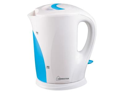 Чайник электрический 1, 7л Homestar HS-1004 бело-голубой