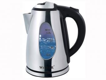 Чайник электрический 1,8л нержавеющая сталь