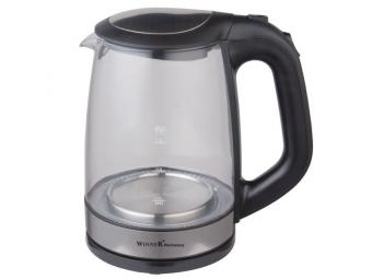Чайник электрический 1,7л стеклянный WR-129