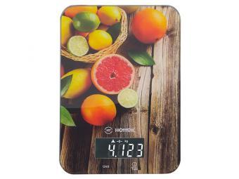 Весы кухонные электронные 5кг Цитрусовые