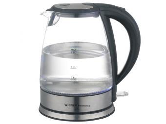 Чайник электрический 1,8л стекл WR-101
