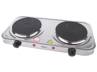 Плитка электрическая двухкомфорочная ATH-1738 silver