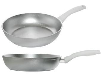 Сковорода 26см с утолщенным дном без покрытия