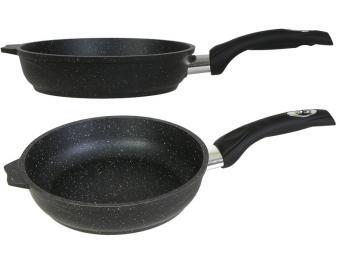Сковорода 20см Гранит black