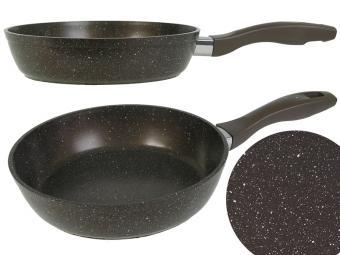 Сковорода 28см антипригарное покрытие с бронзовой крошкой