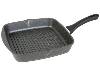 Сковорода-гриль 28*28 квадратная Гранит