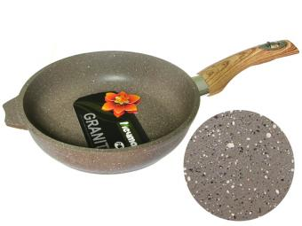 Сковорода 20см с покрытием Гранит brown Мечта