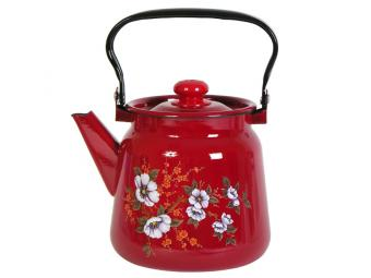 Чайник 3,5л с рисунком вишневый 123053