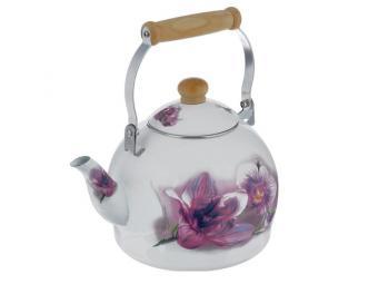 Чайник Bohmann эмаль с декором 4л