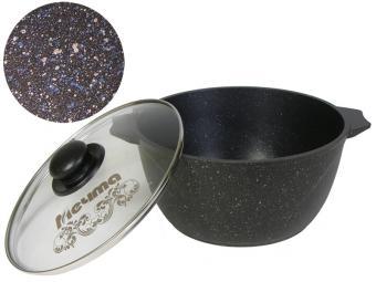 Кастрюля 5л литая с покрытием Гранит star Мечта