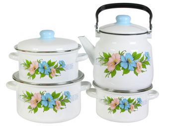 Набор кастрюль Виола с чайником