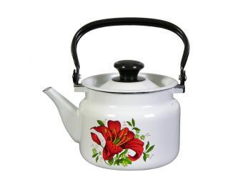 Чайник 2л с рисунком (цвет в ассортименте)