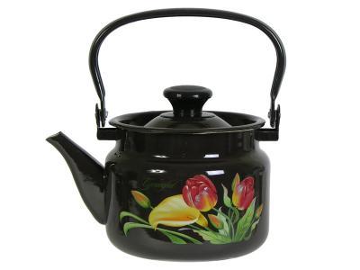 Чайник 2л коричневый, рисунки в ассортименте КМК г.Керчь