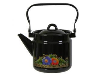 Чайник 2л эмалированный с рисунком