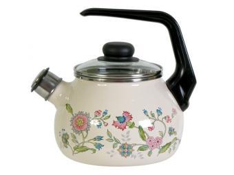 Чайник 2л со свистком Луговые цветы