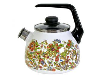 Чайник 3л IMPERIO со свистком сферический