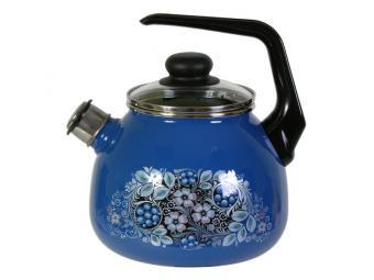 Чайник 3л со свистком Вологодский сувенир