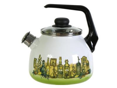 Чайник 3л со свистком Сицилия Стальэмаль (Череповец)