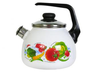 Чайник 3л со свистком Овощной фреш