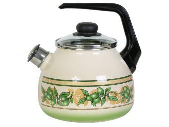Чайник 3л OLIVA со свистком