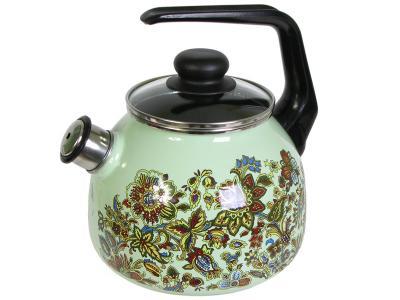 Чайник 3л IMPERIO белоснеж Стальэмаль (Череповец)