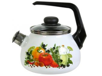 Чайник 2л со свистком Европейская кухня