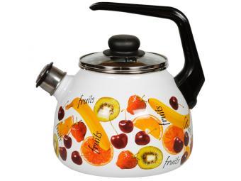 Чайник 3л FRUITS со свистком