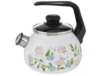Чайник 2л BUKET со свистком (белоснеж.)
