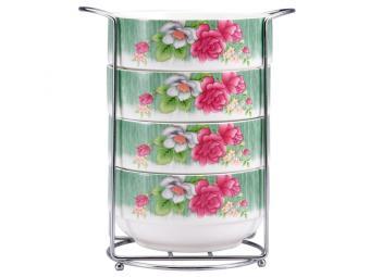 Набор салатников Цветок