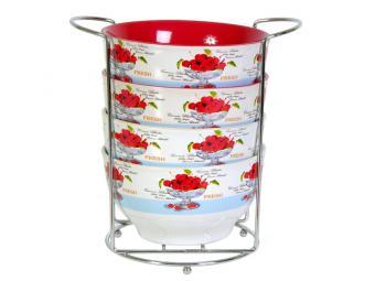 Набор салатников Вишневый фреш 580мл