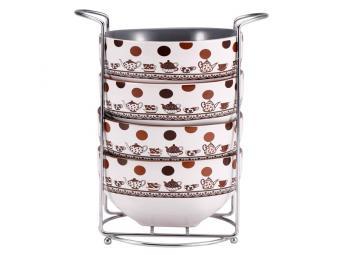 Набор салатников 550мл (кер)