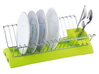 Сушилка для посуды хром 41,5*25*12см