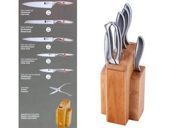 Набор ножей Reliant с метал ручками 7 пр