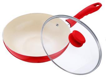Сковорода 26см глубокая с антипригарным покрытием