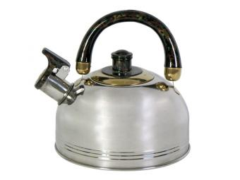 Чайник 2,25л нержавеющая сталь со свистком