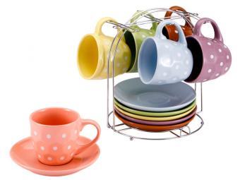 Чайный набор Pastello 12 предметов