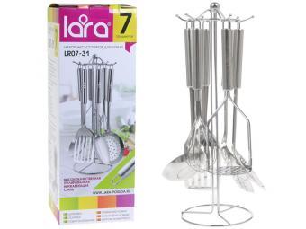 Набор кухонных принадлежностей 7 пр нерж LR07-31