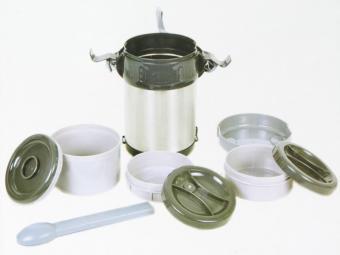 Термос 2л пищевой нерж.сталь, 3 емкости