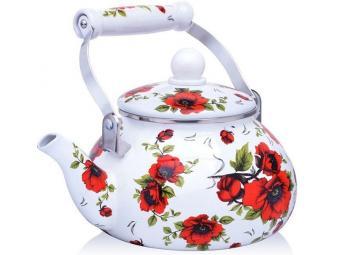 Чайник 2,5л эмалированный Розы Mayer&Boch
