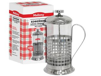Кофе-пресс 600мл нерж Cellula B511-600ML