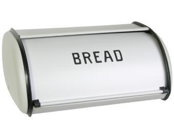 Хлебница металлическая Кантри серая, 35*24см