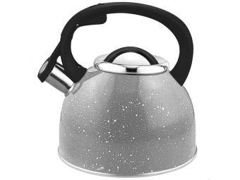 Чайник 2,5л нерж со свистком Arte 280826