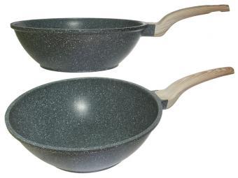 Сковорода 30см Вок LARA GRANIT индукция