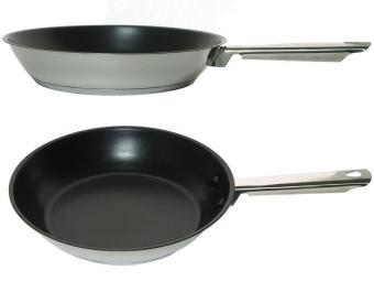 Сковорода 26см GOURMET нерж с антипригарным покрытием