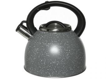 Чайник 3л со свистком нерж светло-серый тм Appetite