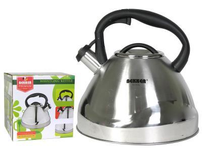 Чайник 4, 5л нерж Premium Bekker Волна Bekker BK-S608