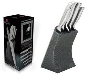 Набор ножей 6пр на подставке Kikoza Collection