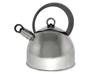 Чайник 2,2л нерж со свистком капсульное дно