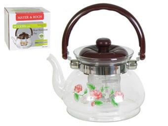Чайник заварочный 800мл Мayer Boch Розочки