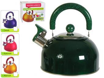 Чайник 2,5л нерж зеленый